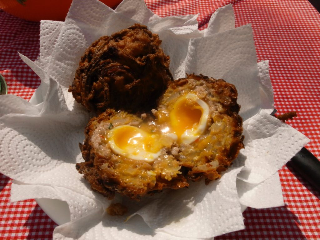 The best scotch egg I've ever tasted